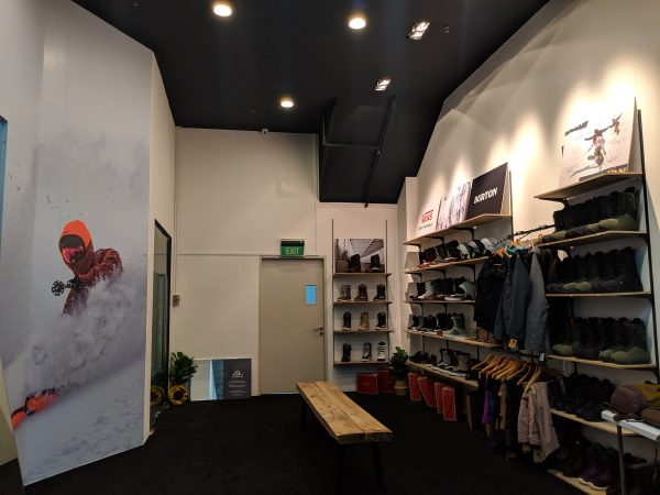 The Ride Side ski snowboard first retail store in singapore the drop